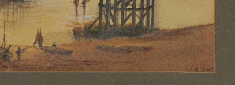 William Arthur Earp (1867-1927) - Fine Watercolour, Chain Pier Brighton For Sale 2
