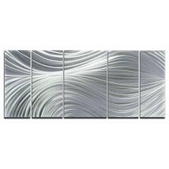 Sebastian R. Abstract Modern Metal Wall Art Sculpture Contemporary Abstract Deco