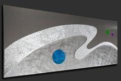 Modern Contemporary Metal Art Wall Sculpture, by Sebastian R