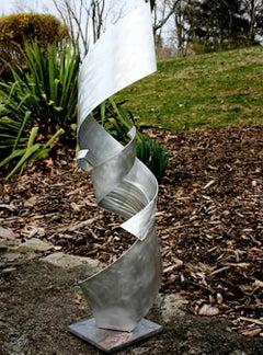 Stainless Steel Indoor Outdoor Sculpture Modern Contemporary Art, by Sebastian R
