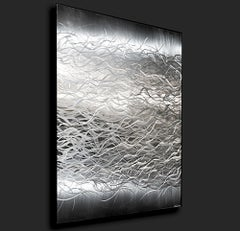 Modern Contemporary Metal Art, Aluminum Wall Sculpture, by Sebastian R