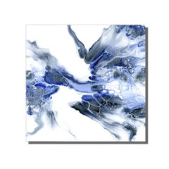 Giclee Print on Metal, Contemporary Modern Abstract, Limited Edition, by Cessy