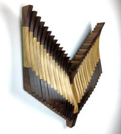 Original, Modern Contemporary, Abstract Wood Bird Wall Sculpture, by Shawn B