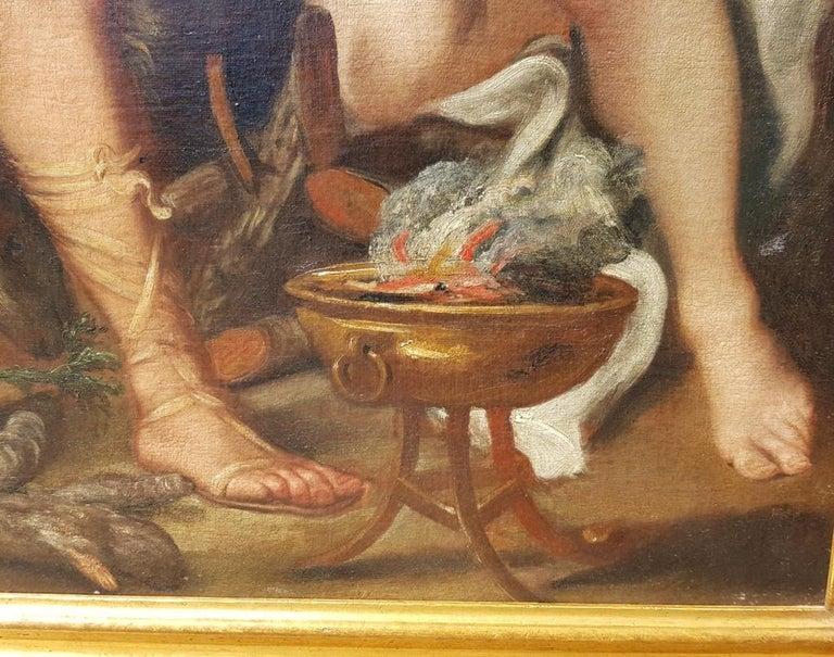 17th century Italian figurative painting - Isaac - Oil on canvas - Venice Figure For Sale 7