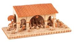 Pesebre / Ceramics Mexican Folk Art Clay