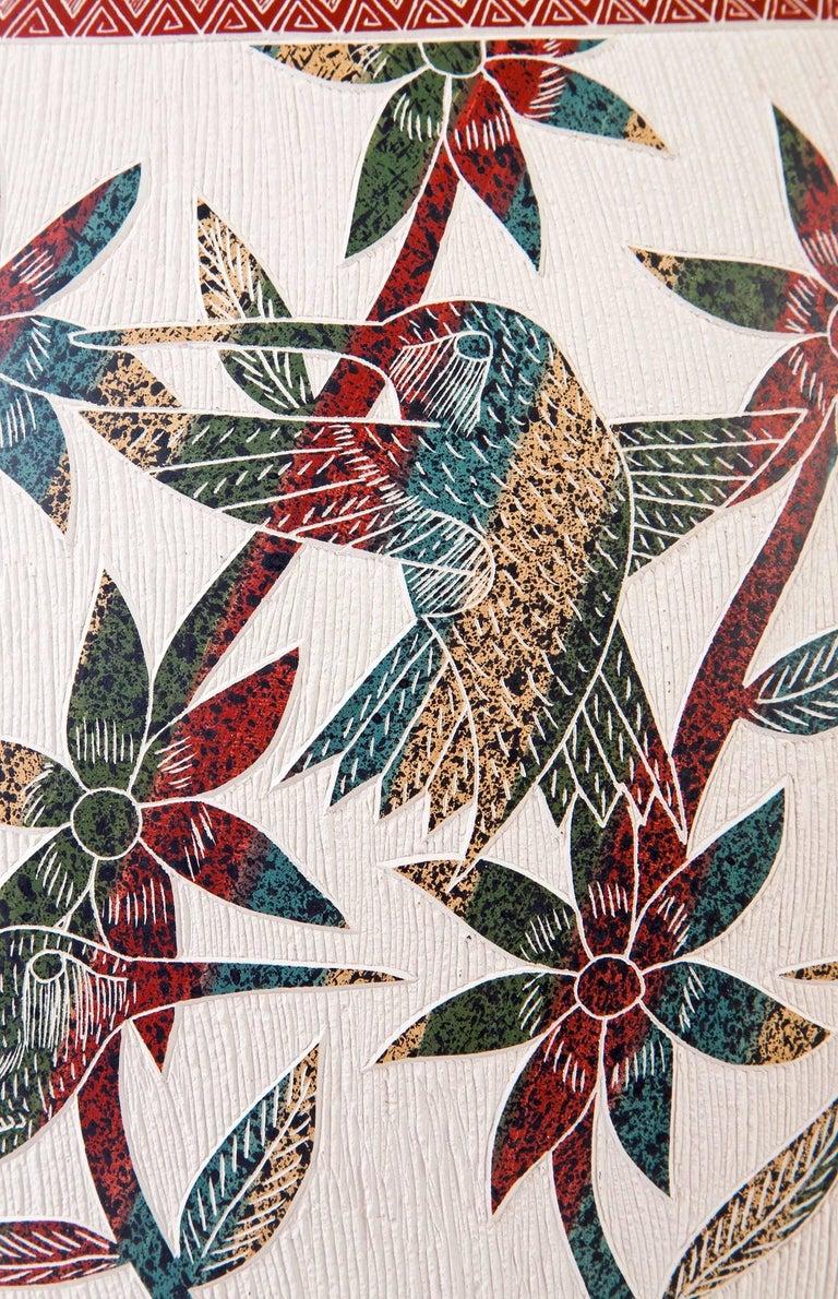 8'' Vasija Multicolor / Ceramic Mexican Folk Art from Mata Ortiz For Sale 3