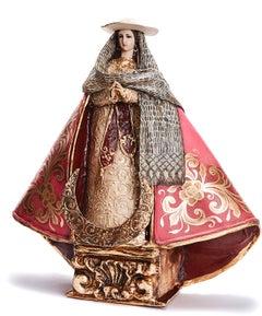 Virgen Peregrina - Crafts - Mexican Folk Art Paper - Cactus Fine Art