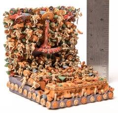Ofrenda Dia de Muertos / Ceramics Mexican Folk Art Miniature