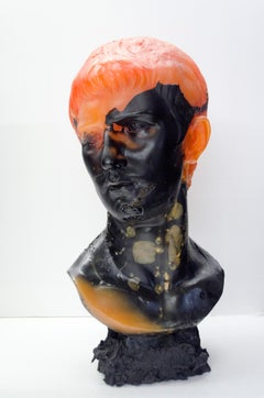 Cousin No Behind Polite Piqued Itself (Urethane resin sculpture)