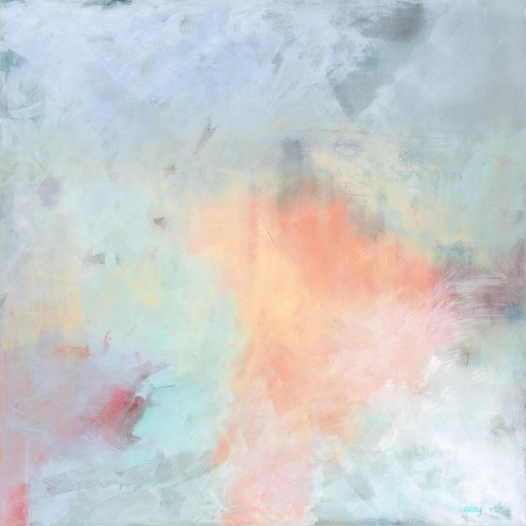 Amy Moglia Heuerman Abstract Painting - Inner Glow