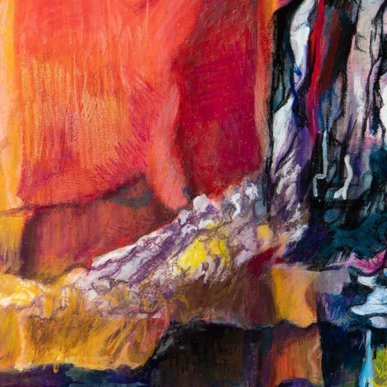 Mt. Kilimanjaro Revisited by Joan Sonnenberg, Abstract Painting, 2016  For Sale 4