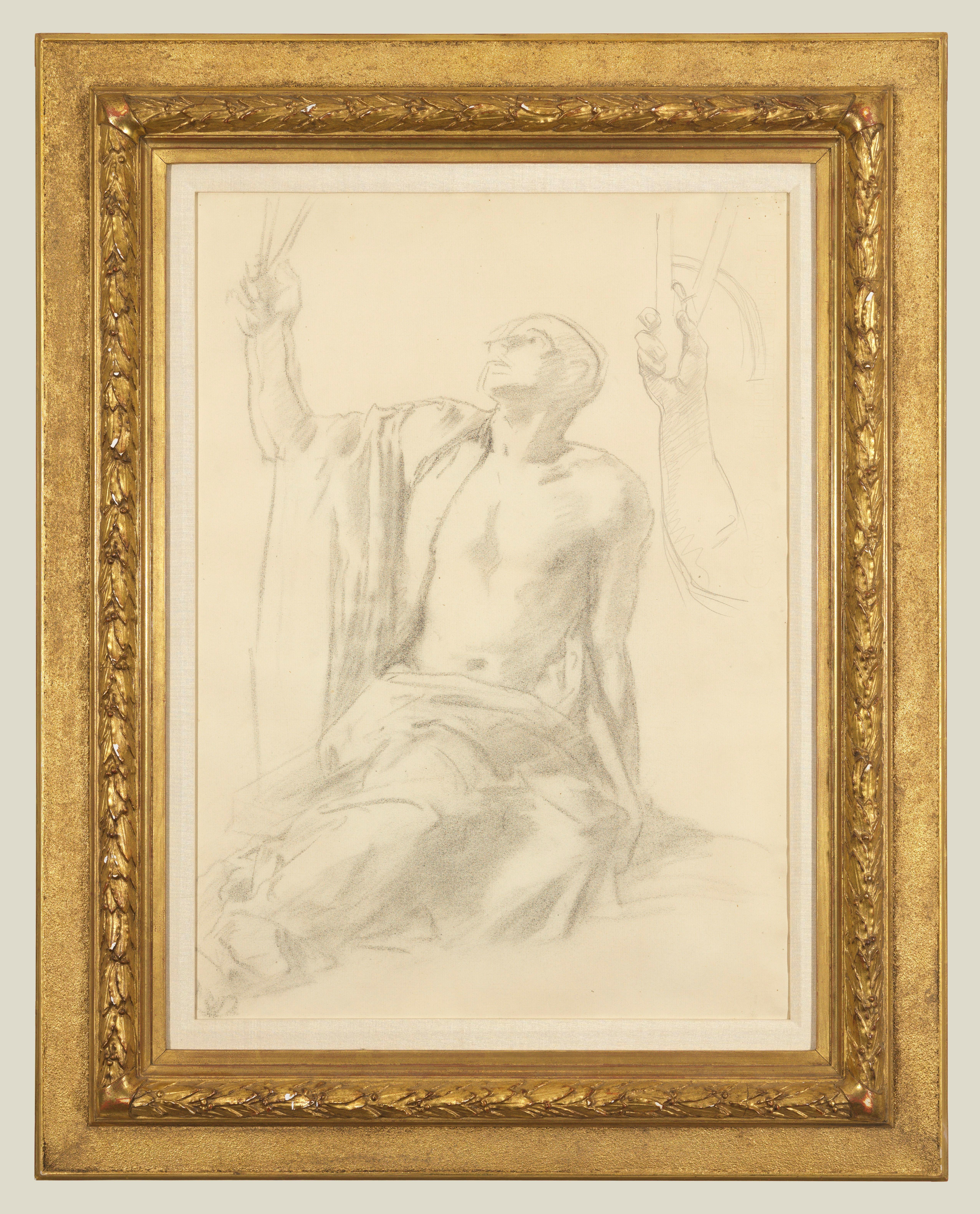 Figure Study For 'Science'