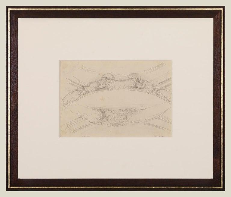 John Singer Sargent Interior Art -  Garland Studies I