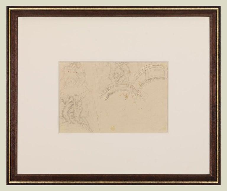 Garland Studies I - Art by John Singer Sargent