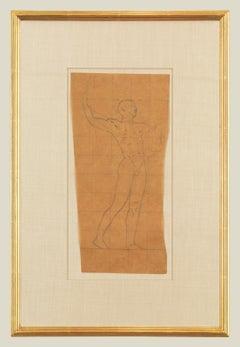 Mural Study, Male Nude