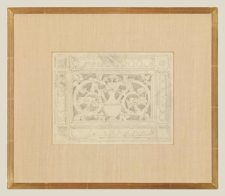 John Singer Sargent Interior Art - Decoration with Urn