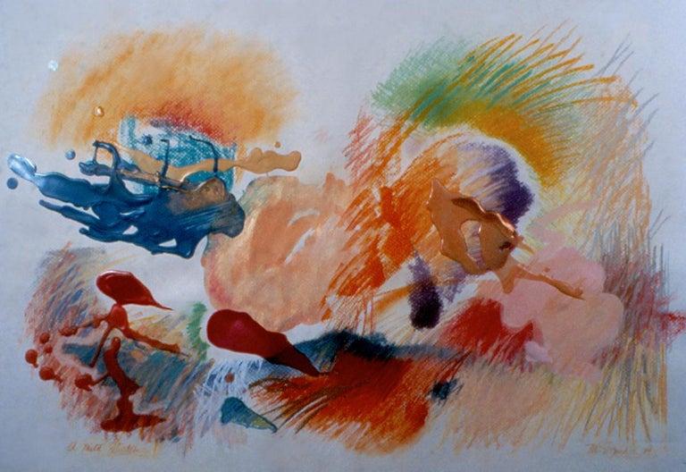 Marilyn Davidson Abstract Drawing - A Mild Flirtation