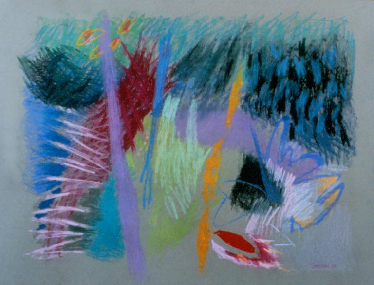 Marilyn Davidson Abstract Drawing - Cannet Can I