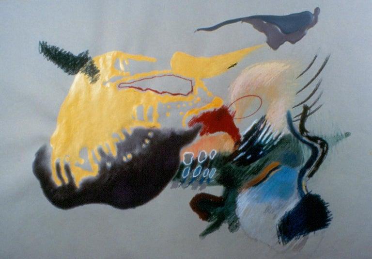 Marilyn Davidson Abstract Drawing - Vacquero