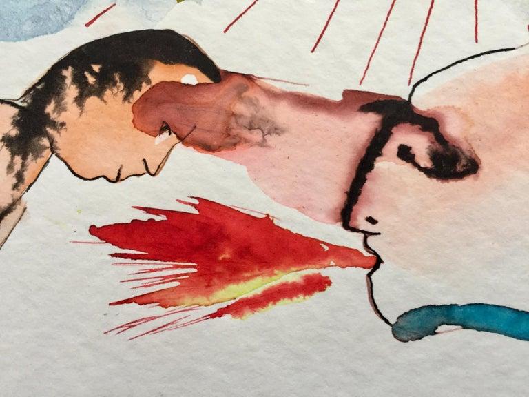 Smoke 0 - Abstract Art by Nana Deleplanque
