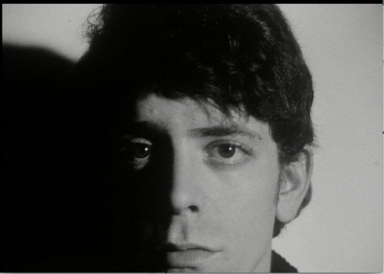 Lou Reed Screen Test - Art by Andy Warhol