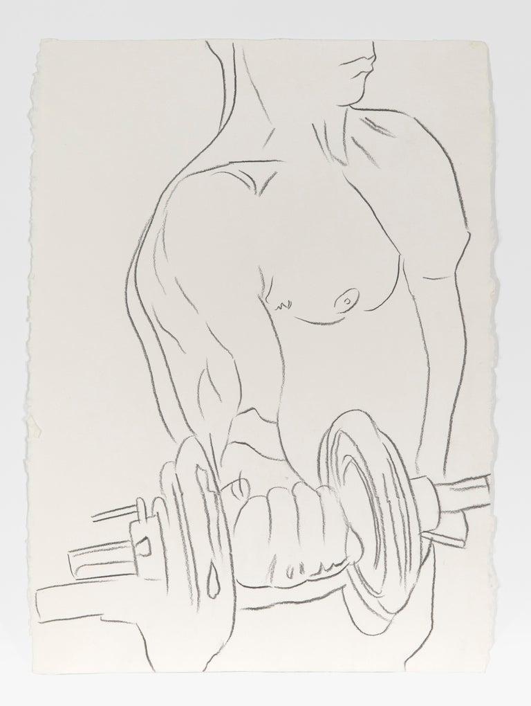 Andy Warhol Nude - Body Builder