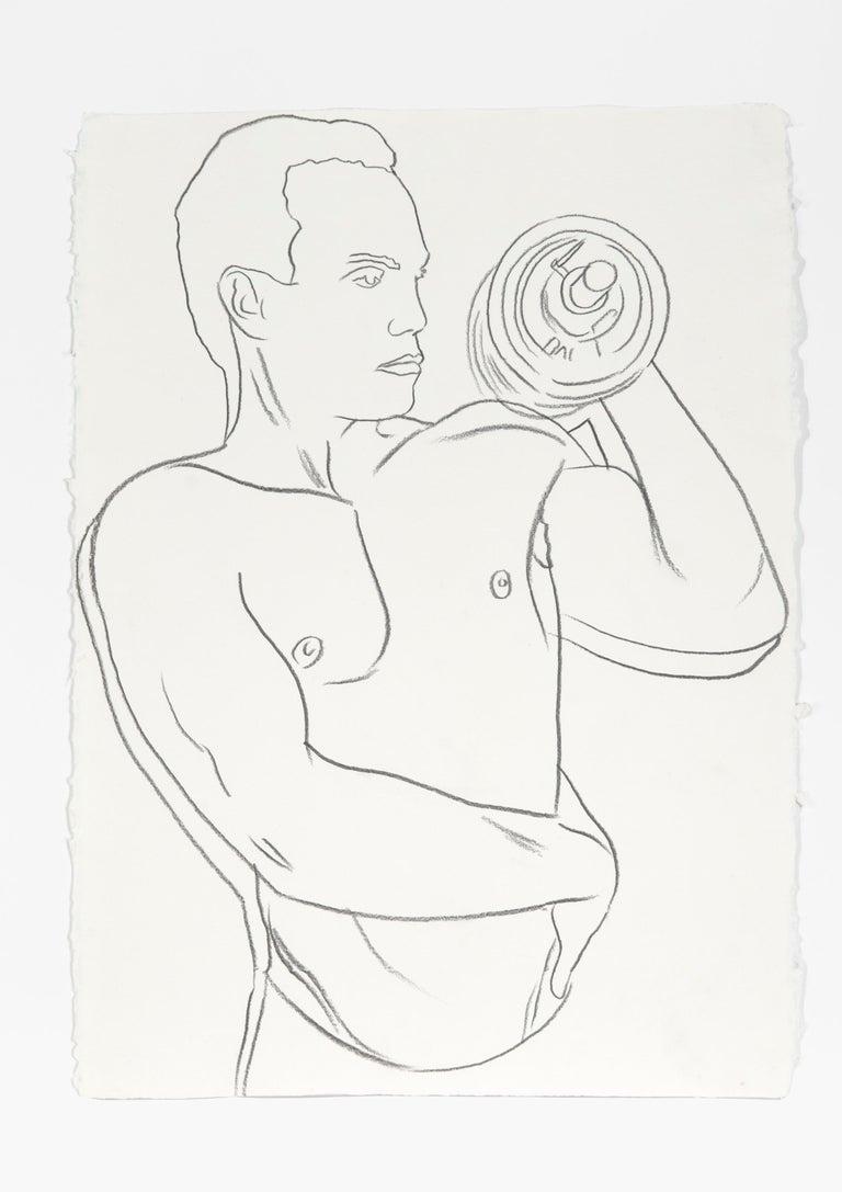 Andy Warhol Nude - Bodybuilder