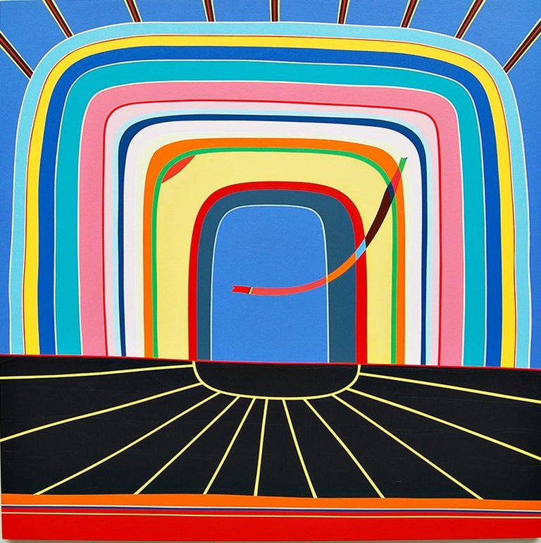 Kurt Herrmann Abstract Painting - Bumble Jackpot