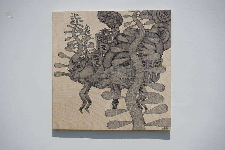 Cheolyu Kim Landscape Art - Walking table #47
