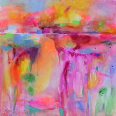 Landscape Abstraction with Color Washes