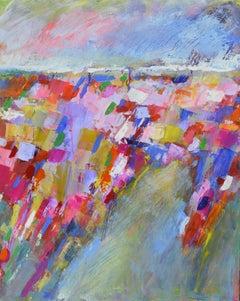 Landscape Abstraction - Color Towards The Horizon