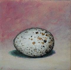 Speckled Egg on Pink