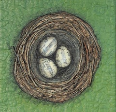 Nestmaking-Song Sparrow's Nest