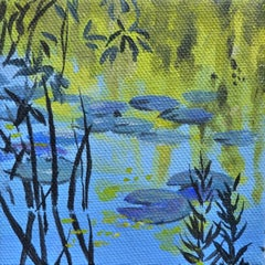 Waterlilies and Willows II