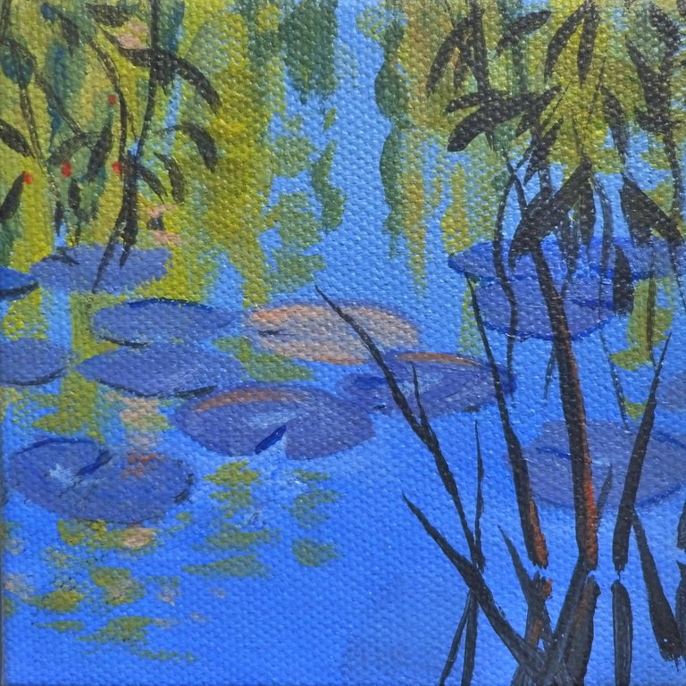 Waterlilies and Willows - Art by Catherine McCargar