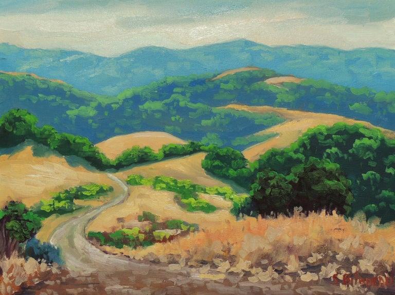 Las Trampas Ridge - Art by Steven Guy Bilodeau