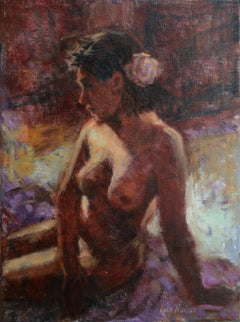 Reflection, Oil Painting