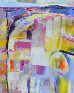 Cityscape 2, Abstract Painting