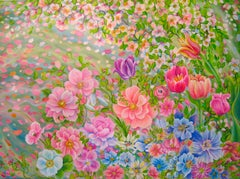 Floral Blooms, Original Painting