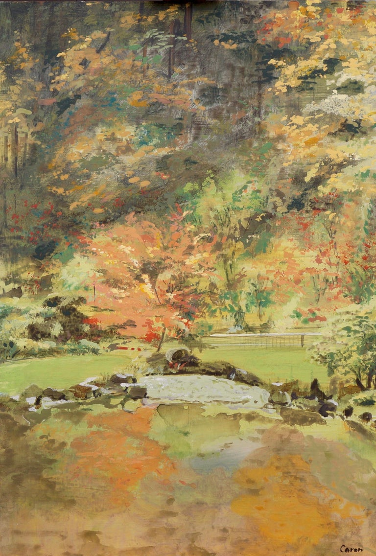 Fall Garden - Art by Sidonie Caron