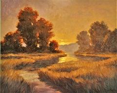 Joyful Sunrise, Oil Painting