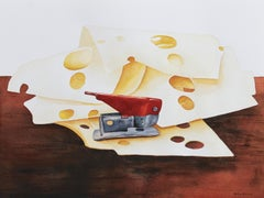 Surrealist Still-life Drawings and Watercolours