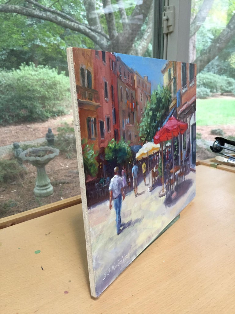 Faye Vander Veer Interior Painting - Summer in Vernazza