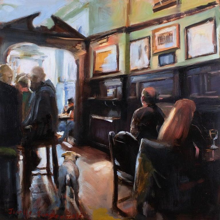 Pub Puppy - Art by Jonelle Summerfield