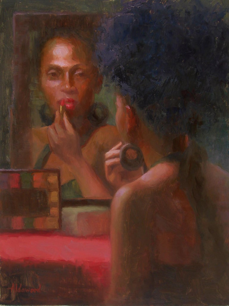 The Face in the Mirror - Art by Sherri Aldawood