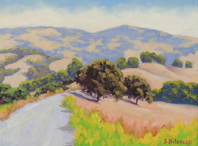 Steven Guy Bilodeau Landscape Painting - Mulholland Ridge Open Space