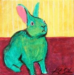 Teal Green Bunny
