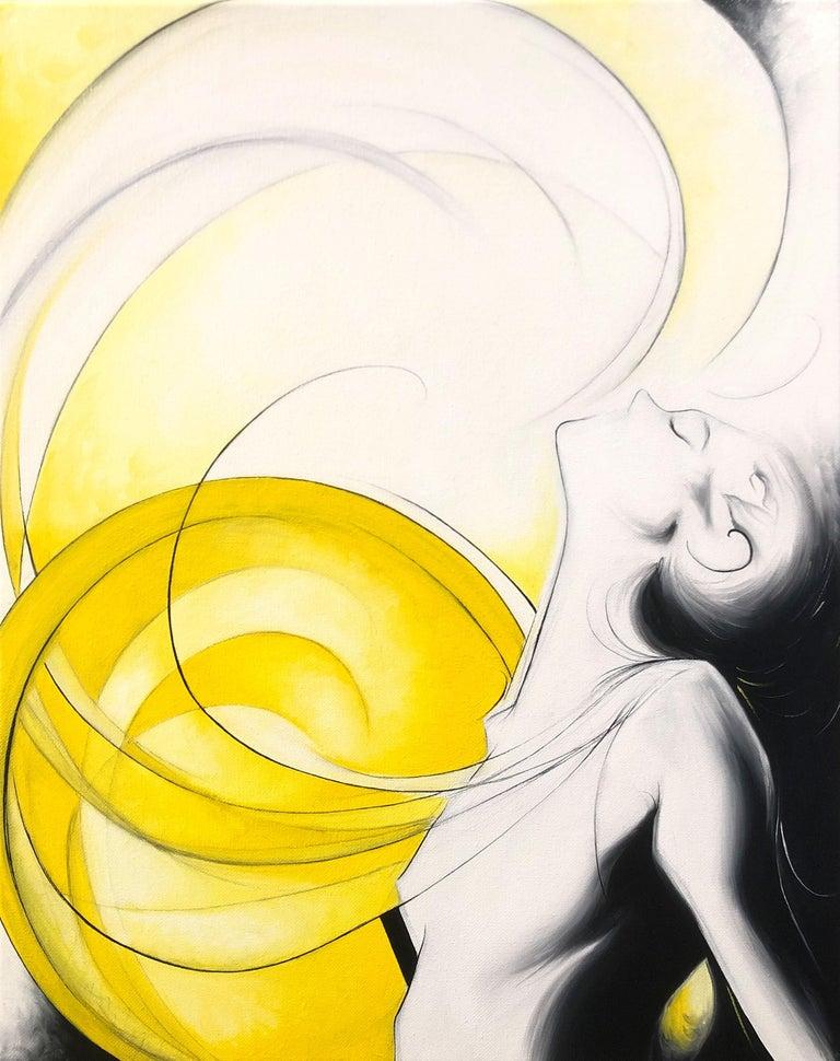 Sumner Crenshaw Figurative Painting - Sun Goddess