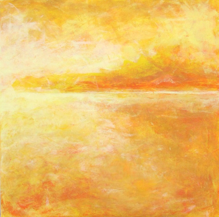 Valerie Berkely Abstract Painting - Yellow