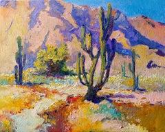 Landscape with Saguaro Cactus, Arizona Desert